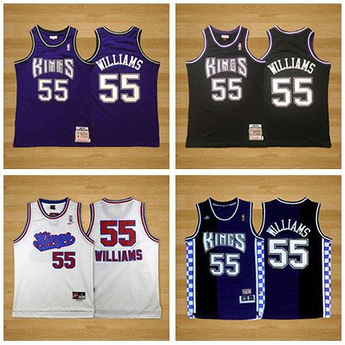 Men Jason Williams Throwback Purple, Black, White, Purple/Black