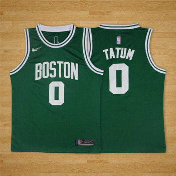 big sale 887ca 82452 Men Jayson Tatum Icon Edition Green, White, Black | YUKIJERSEY