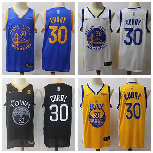 Men Stephen Curry Icon Edition Royal Blue, White, Black, Gold