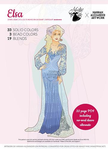 Elsa in Art Nouveau from Hannah Alexander 35/50