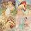 Thumbnail: Alphonse Mucha's 1896 Seasons, Simplified Set