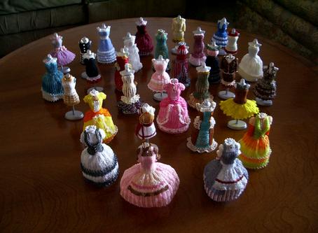 5 Inch Bead Dresses Added