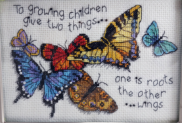 Give Growing Children Two Things Butterflies
