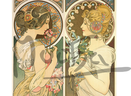 Pre-Orders for Alphonse Mucha's 1899 Primrose and Feather