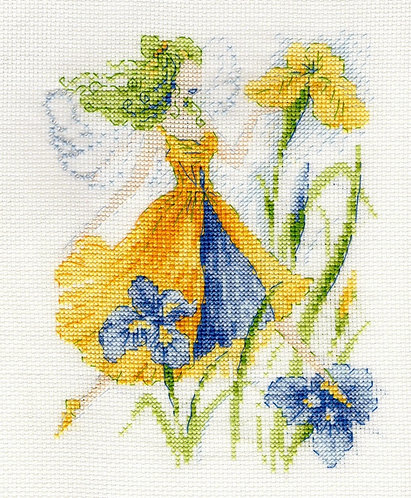 Iris Flower Fairy