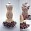 Thumbnail: Rainbow Cream Confetti Mermaid Miniature Bead Dress