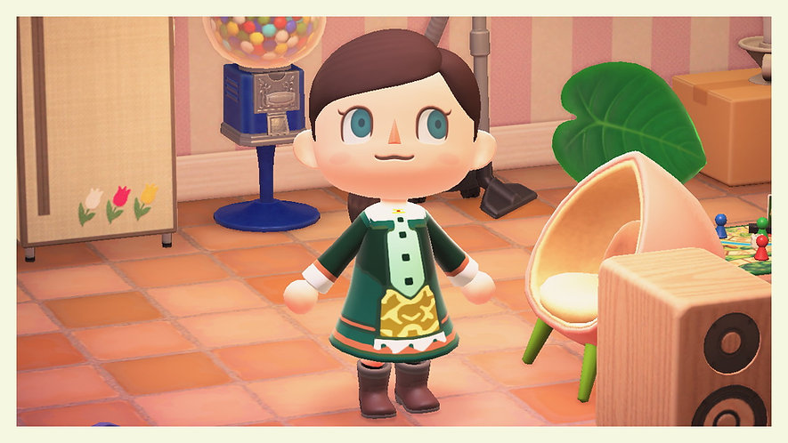 Dia from Harvest Moon Magical Melody Dress for Animal Crossing QR Code