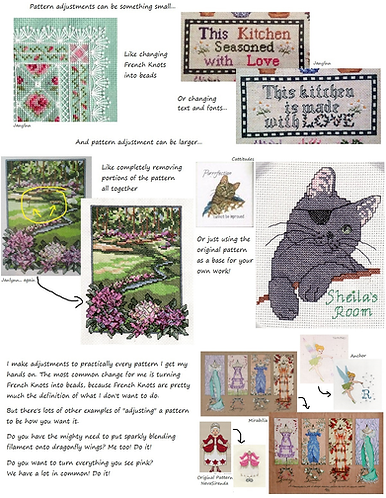 How to Customize an Xstitch Pattern