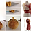 Thumbnail: Shield Maiden Kerria Red and White Miniature Bead Dress with Spear & Shield