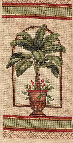 Palm Tree in Terracotta Pot