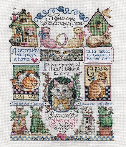 Cats Cats Cats Sampler