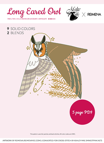 Long Eared Owl from Callupish (Reimena) 2/50