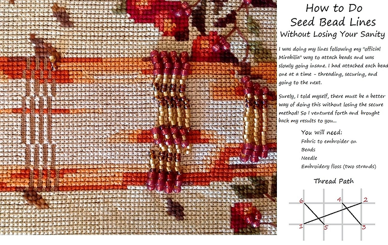 How to Embellish with Bead Lines