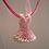 Thumbnail: Pendant Dress - Main Pink with Cream
