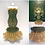 Thumbnail: Zelda Green and Gold Mermaid Miniature Bead Dress