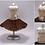 Thumbnail: Coffee Cream and Copper Ballerina Miniature Bead Dress