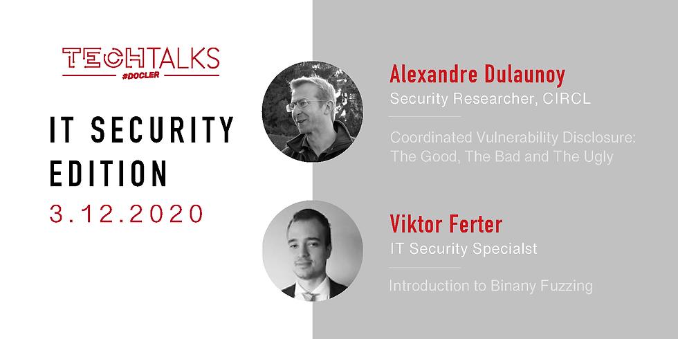 Docler Tech Talks - IT Security