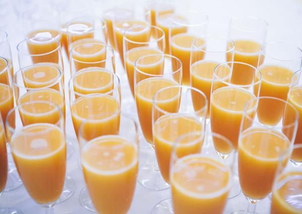 Juice i glas