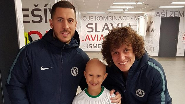 Eden Hazard / Klara (League5 Kids Academy) / David Luiz