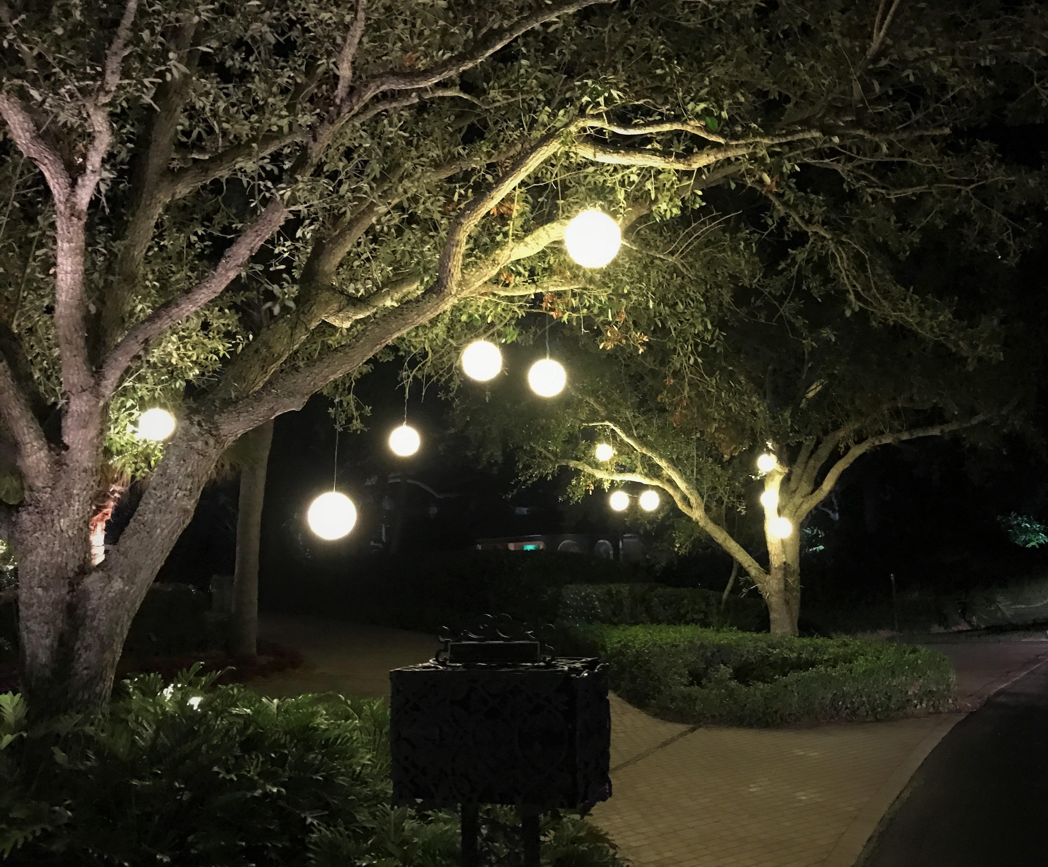 Hanging Orbs, Lanterns, Etc.