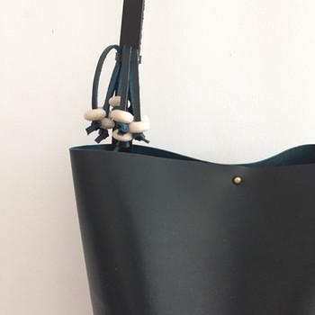 tarubitwu bag leather hexagon