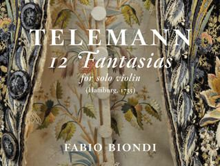 Telemann: Fantasia for Solo Violin No. 9