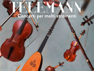 Telemann: Concerto for 2 Flutes and Calchedon in B minor, TWV 53:h1