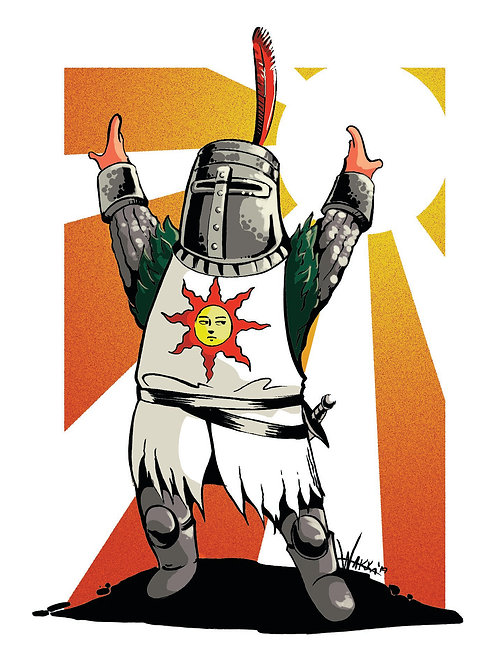 Solaire glossy print