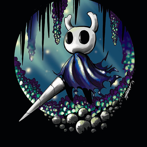 Hollow Knight glossy print