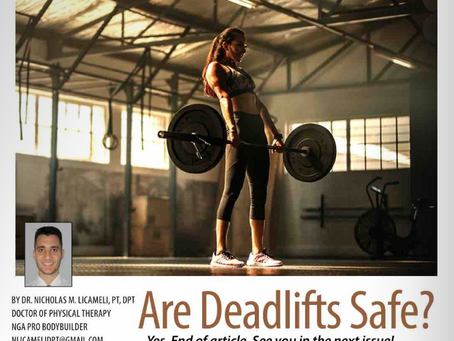 Are Deadlifts Safe?