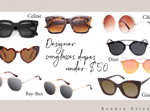 The sunglasses you need for summer under $50!