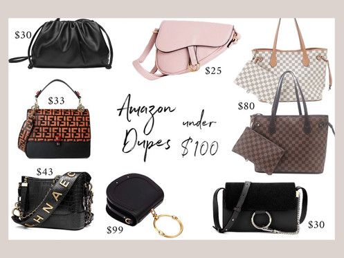 Designer bag dupes under $100