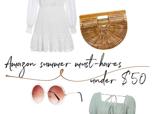 Amazon summer must-haves under $50
