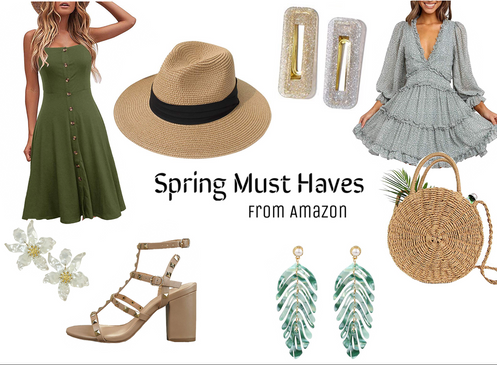 Spring must haves on Amazon