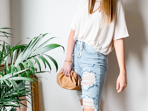 Elevate a casual look