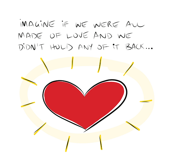 Made of Love Greeting Card