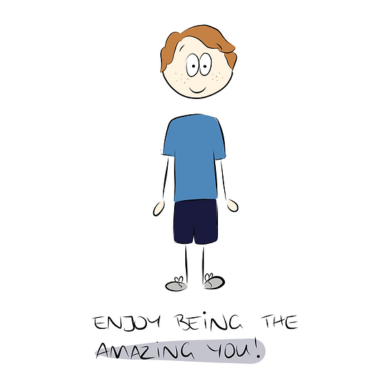 The Amazing You Greeting Card
