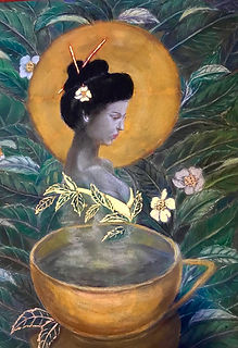 The Tea Goddess by www.minouche-graglia.