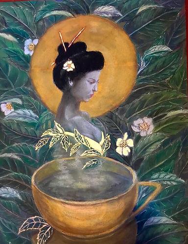 The Tea Goddess by www.minouche-graglia.