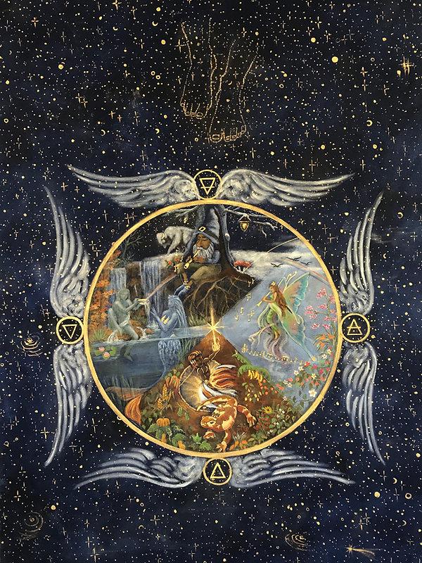 The Elementals - by Minouche Graglia -