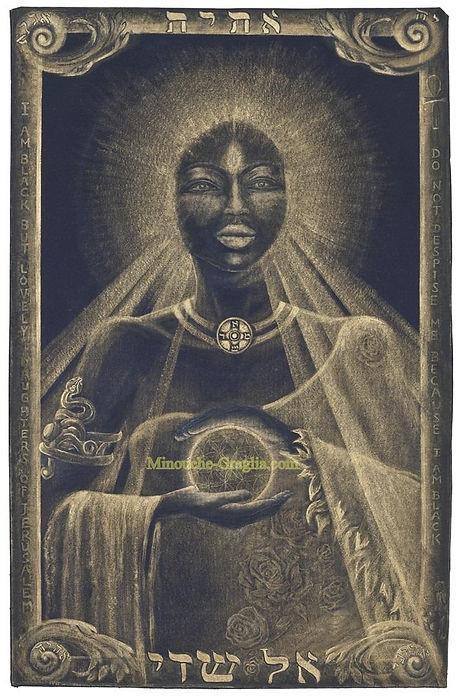 Original Painting .Sacred Art as Healing Art