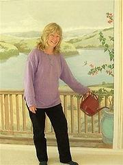 """""""Bon tempe lake"""" mural- Bedroom wall decor..www.minouche-graglia.com"""