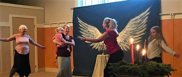Angel Wings at Fairfax Community Church