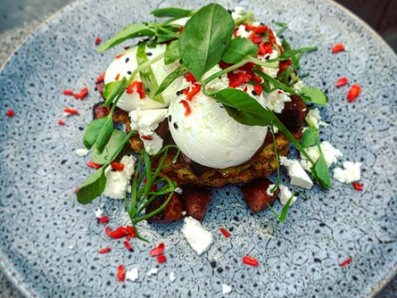 Another amazing special: Corn Fritters w