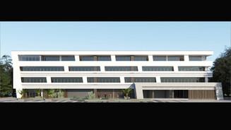 Реконструкция фасада здания