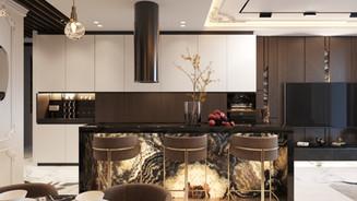 Дизайн-проект квартиры премиум класса