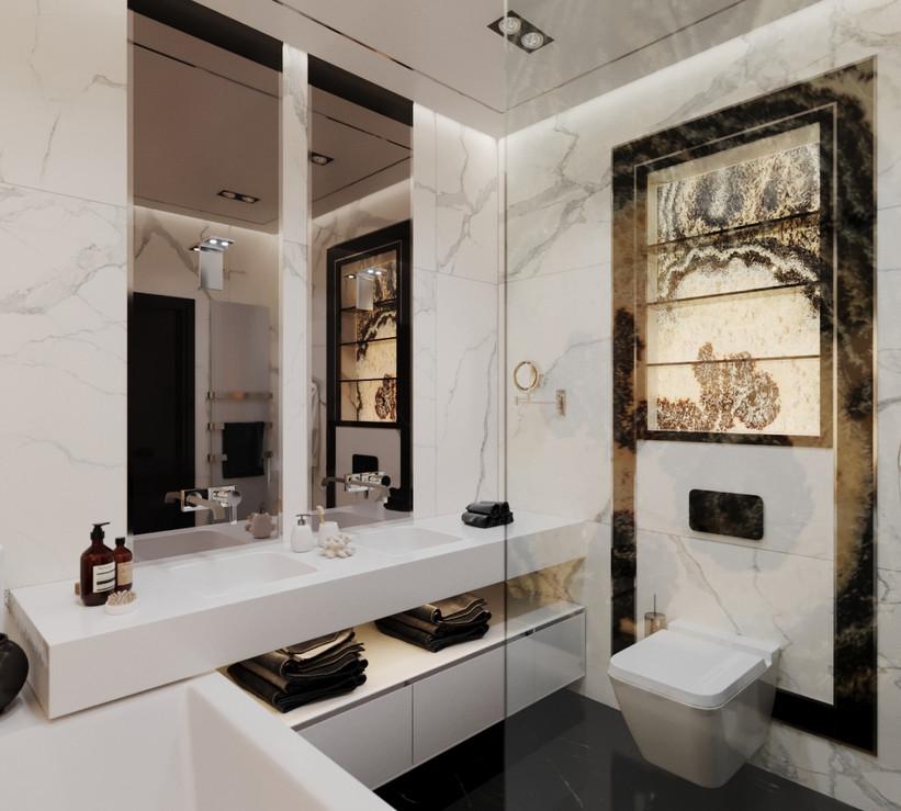 Дизайн ванной комнаты в Сочи