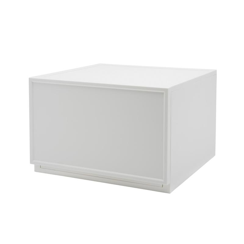 Drawer Block Medium C White