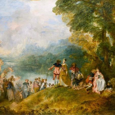 15분 5화, 서정으로의 도피, Antoine Watteau