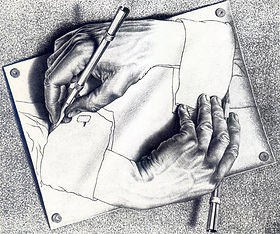 Drawing Hands Maurits Cornelis Escher.jp